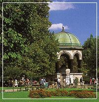 Alman Cesmesi, fountain of Wilhelm II, Istanbul