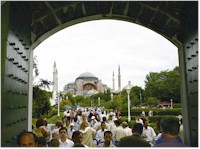 Each year, over one million visitors admire Saint Sophia, the ancient eighth wonder of the world